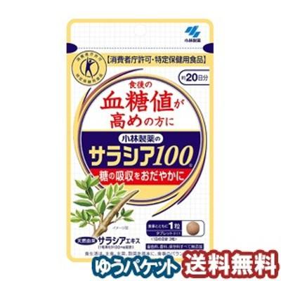 小林製薬 サラシア100 60錠(約20日分) メール便送料無料
