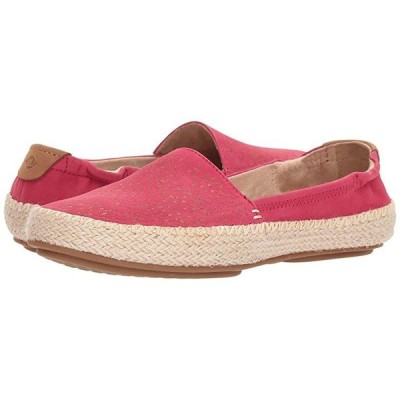 Sperry Sunset Ella Nubuck Etch レディース ローファー Bright Pink