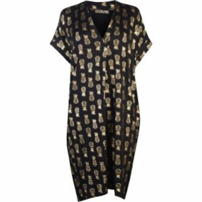 ビバ Biba レディース ワンピース チュニックドレス ワンピース・ドレス Pineapple Tunic Dress Black