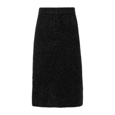 CALVIN KLEIN COLLECTION 7分丈スカート ブラック S ナイロン 100% 7分丈スカート