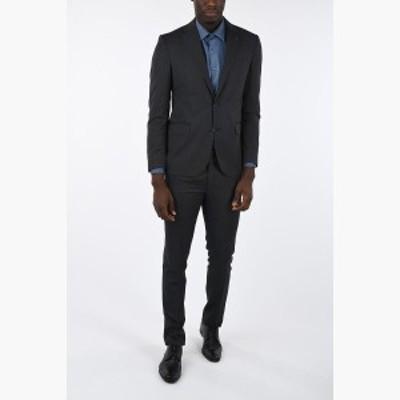 CORNELIANI/コルネリアーニ スーツ Gray メンズ CC COLLECTION micro pinstriped drop 7 r 2-button suit dk