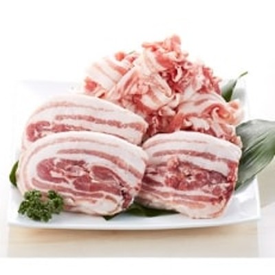 長崎県産「競り美豚」バラ切り落とし 1.5kg