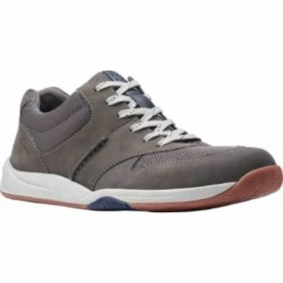 クラークス Clarks メンズ スニーカー シューズ・靴 Langton Race Sneaker Grey Nubuck