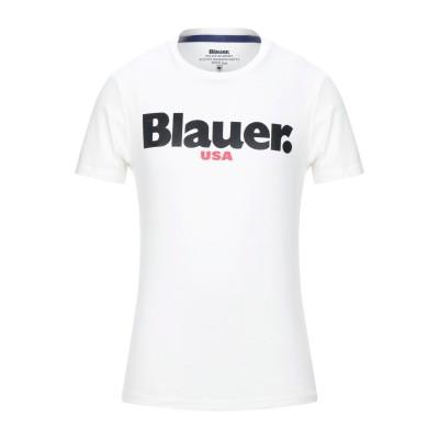 ブラウアー BLAUER T シャツ アイボリー XXL コットン 100% T シャツ