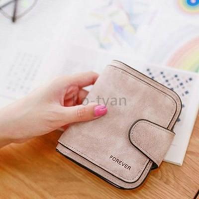 財布 折り財布 レディース シンプル スナップ 全6色 ミニウォレット プレゼント 手触りいい パーティー 結婚式 おしゃれ