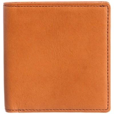 [スインリー] 財布 メンズ 二つ折り 薄型 日本製 EWSLBS02 キャメル