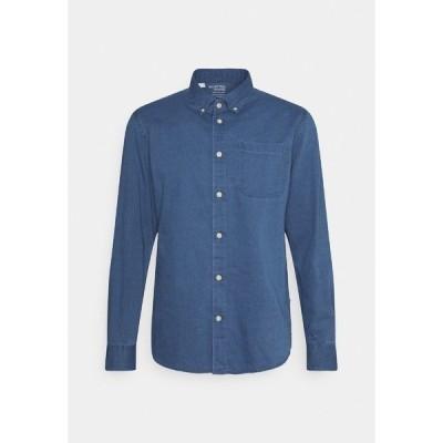 セレクテッドオム シャツ メンズ トップス SLHREGRICK - Shirt - medium blue denim