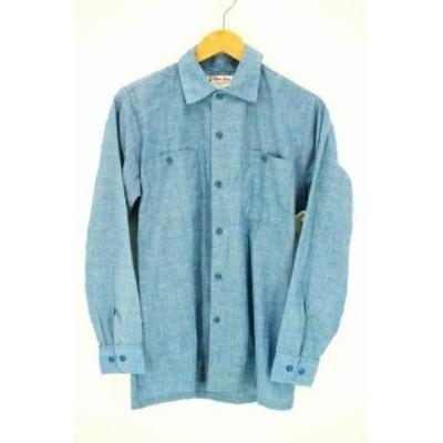 グレンベリー GLENN BERRY ワークシャツ サイズimport:S メンズ 【中古】【ブランド古着バズストア】