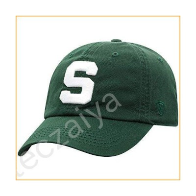 Top of the World Michigan State Spartans Men's Relaxed Fit Adjustable Hat Team Color Secondary Icon, Adjustable並行輸入品