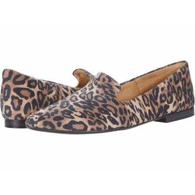 ナチュライザー スリッポン・ローファー シューズ レディース Lorna Dark Brown Cheetah Fabric