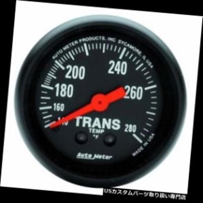 タコメーター オートメーター2615 Zシリーズメカニカルトランスミッション温度計  Auto Meter 2615 Z-Se