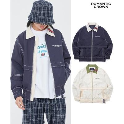 [ROMANTIC CROWN] RMTCRW FIELD JACKET 韓国正規品 日本未入荷 ロマンティッククラウン ジャケット 21RCSPOJKU004 レディース メンズ