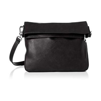 Esprit Accessoires Nele Flpshldbag Women's Cross-Body Bag, Black, 3x37x33 Centimeters (B x H x T) 並行輸入品