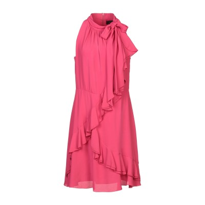 KI6? WHO ARE YOU? ミニワンピース&ドレス フューシャ 42 アセテート 65% / シルク 35% ミニワンピース&ドレス