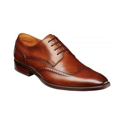 Florsheim フローシャイム メンズ 男性用 シューズ 靴 オックスフォード 紳士靴 通勤靴 Sorrento Wing Tip Oxford - Cognac Smooth