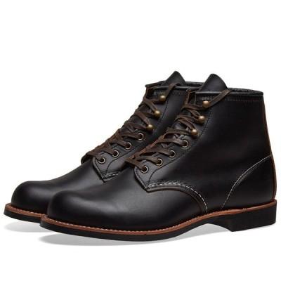 """レッドウィング Red Wing メンズ ブーツ ワークブーツ シューズ・靴 3345 Heritage Work 6"""" Blacksmith Boot Black Prairie"""