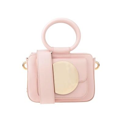 ブルマリン BLUMARINE メッセンジャーバッグ ライトピンク 牛革(カーフ) 100% メッセンジャーバッグ