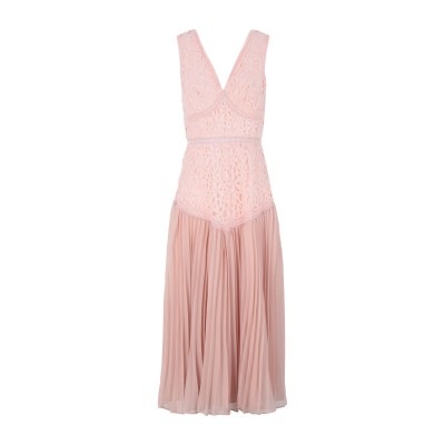TRUE DECADENCE 7分丈ワンピース・ドレス ピンク 14 ポリエステル 100% 7分丈ワンピース・ドレス