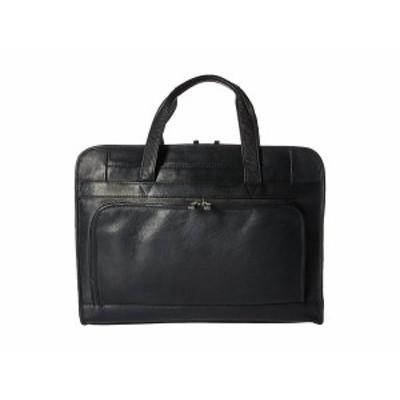 フォッシル メンズ ビジネス系 バッグ Haskell Double Zip Workbag Black