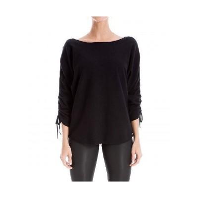 MAXSTUDIO レディース 女性用 ファッション セーター Sweater - Black