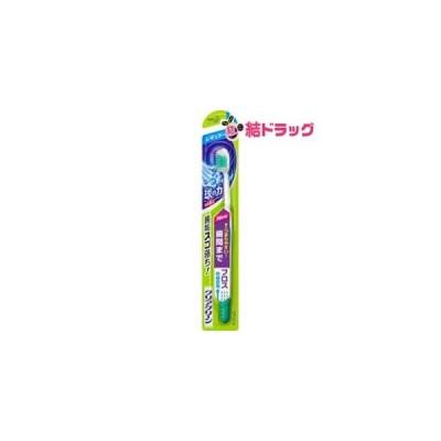 クリアクリーン ハブラシ 歯間プラス レギュラー やわらかめ(1本入)【メール便対応商品・4個まで】