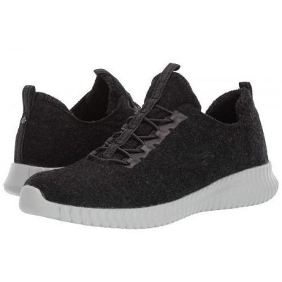 SKECHERS スケッチャーズ メンズ 男性用 シューズ 靴 スニーカー 運動靴 Elite Flex - Corried - Black