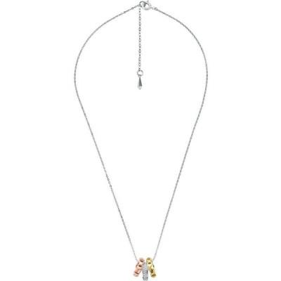 マイケル コース MICHAEL KORS レディース ネックレス ジュエリー・アクセサリー necklace Silver