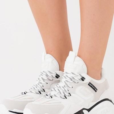 バッファロー レディース 靴 シューズ MELLOW - Trainers - white