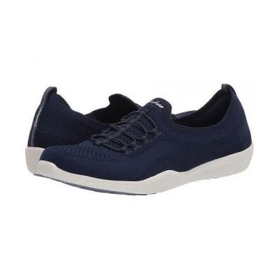 SKECHERS スケッチャーズ レディース 女性用 シューズ 靴 スニーカー 運動靴 Newbury St - Every Angle - Navy