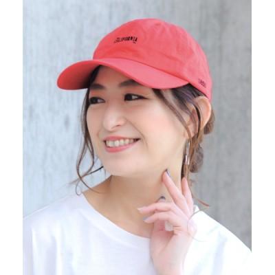 14+(ICHIYON PLUS) / CALIFORNIAカラー刺繍キャップ WOMEN 帽子 > キャップ