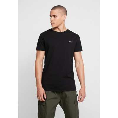 ティガ Tシャツ メンズ トップス HEIN - Basic T-shirt - black