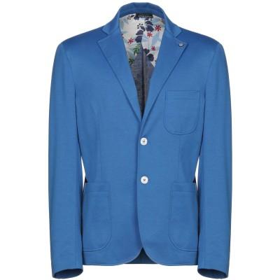 DIMATTIA テーラードジャケット ブルー 48 紡績繊維 テーラードジャケット