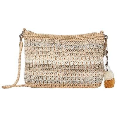 The Sak Greenwood Shoulder Bag レディース ハンドバッグ かばん Sand Stripe