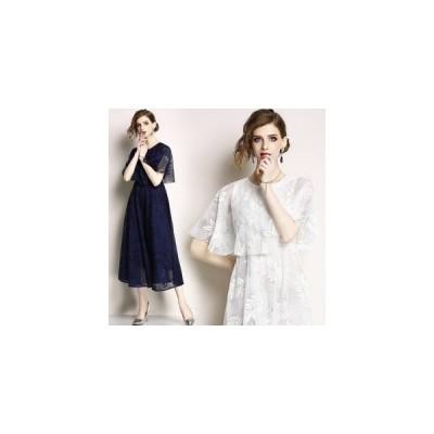 パーティードレス 結婚式 ワンピース 20代 30代 刺繍 ウェディングドレス 二次会 ブライズメイド ロングドレス ミモレ丈 演奏会用 大きいサイズあり 短納期