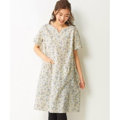 【大きいサイズ】 綿100%半袖ワンピース ワンピース, plus size dress