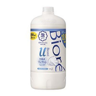 -【花王】 ビオレu ザ ボディ The Body 泡タイプ ピュアリーサボンの香り つめかえ用 800mL 【日用品】