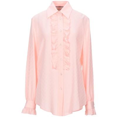 グッチ GUCCI シャツ ピンク 40 シルク 100% シャツ