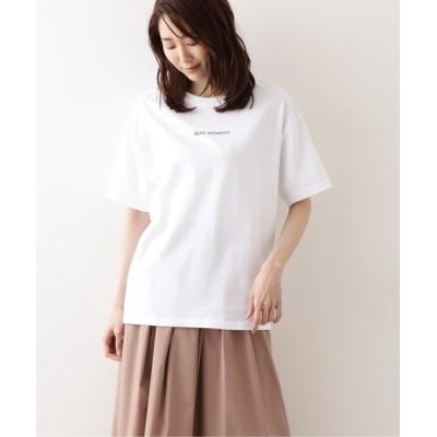 NATURAL BEAUTY BASIC / オーガニックコットン カジュアルTシャツ WOMEN トップス > Tシャツ/カットソー