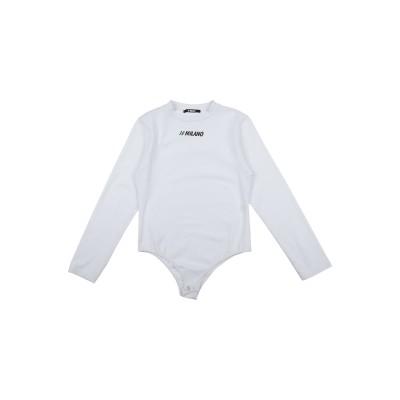 10 MILANO T シャツ ホワイト 14 コットン 90% / ポリウレタン® 10% T シャツ