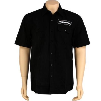 ザハンドレッズ The Hundreds メンズ 半袖シャツ トップス Jeri Short Sleeve Shirt black