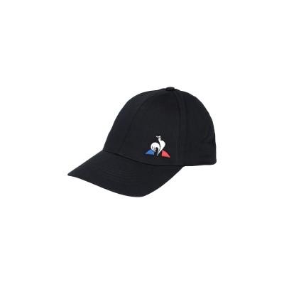 ルコックスポルティフ LE COQ SPORTIF 帽子 ブラック one size コットン 97% / ポリウレタン 3% 帽子