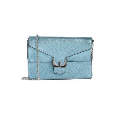 COCCINELLE ハンドバッグ ターコイズブルー 牛革(カーフ) ハンドバッグ