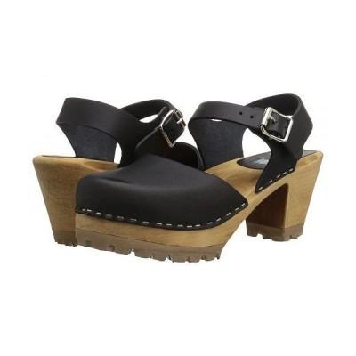 MIA エムアイエー レディース 女性用 シューズ 靴 クロッグ ミュール Abba - Black