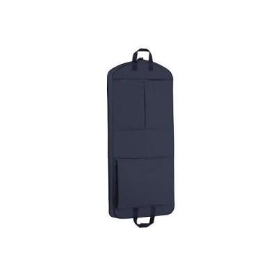 """トラベルアクセサリー ウォーリーバッグ WallyBags 52"""" Dress Length Garment Bag with Larger Capacity Navy 859 NVY"""