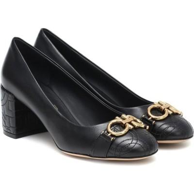 サルヴァトーレ フェラガモ Salvatore Ferragamo レディース パンプス シューズ・靴 Garda Gancini leather pumps