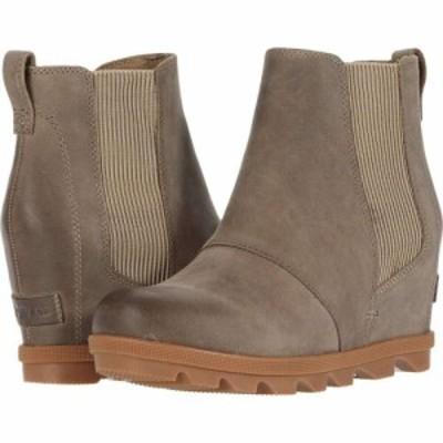 ソレル SOREL レディース ブーツ ウェッジソール シューズ・靴 Joan of Arctic Wedge II Chelsea Khaki II