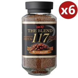 UCC 117即溶咖啡x6罐組(90g/罐)