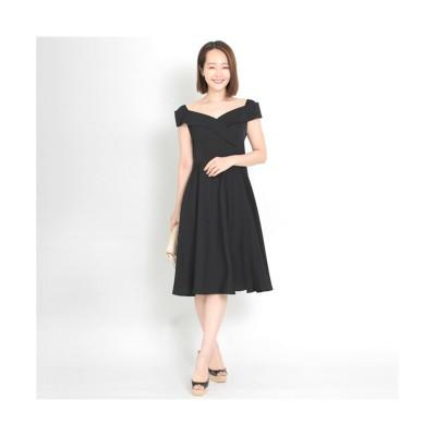 MARTHA(マーサ) フレンチスリーブデコルテワンピース (ワンピース)Dress