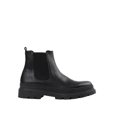 ARTIGIANI AURELIO GIOCONDI ショートブーツ ブラック 41 牛革(カーフ) ショートブーツ