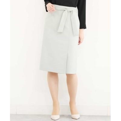 MK MICHEL KLEIN homme / ウエストリボンIラインスカート WOMEN スカート > スカート